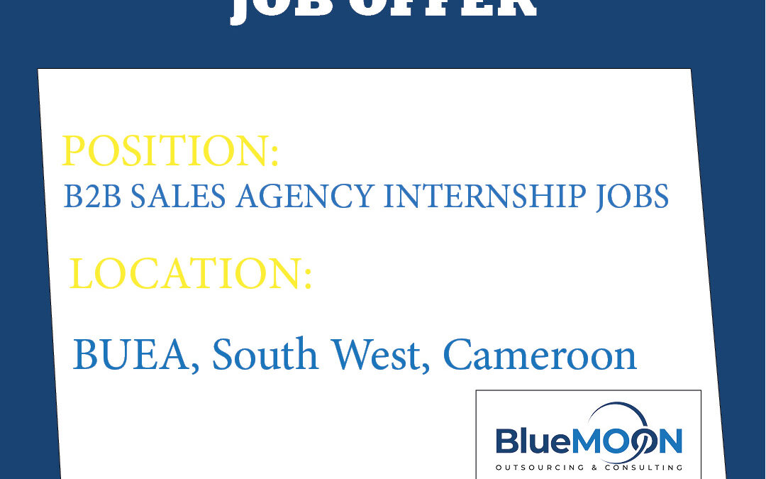 B2B Sales Agency Internship Jobs